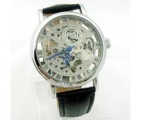 Мужские наручные часы скелетон