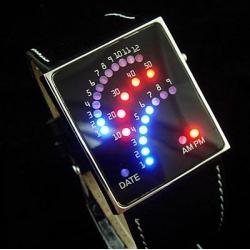 Электронные (бинарные) наручные часы Э-05