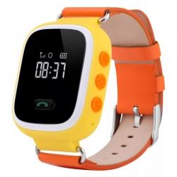 Детские часы GPS Q60 оранжевые