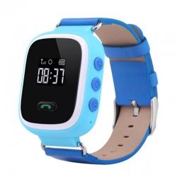 Детские часы GPS Q60 голубые
