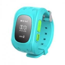 Детские часы GPS Q50 голубые