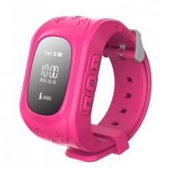 Детские часы GPS Q50 розовые