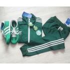 Спортивный костюм зеленый