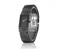 Женские часы Кельвен Кляйн с черным браслетом