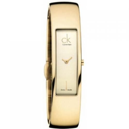 3384f96cc6e8 Золотые женские наручные часы Calvin Klein