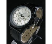 Механические наручные мужские часы с тремя циферблатами
