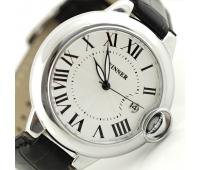Мужские механические наручные часы с автоподзаводом с календарем