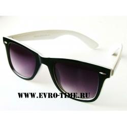 Черно-белые  солнцезащитные очки вайфаер