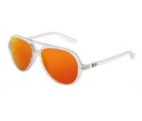 Очки Aвиаторы с оранжевыми стеклами