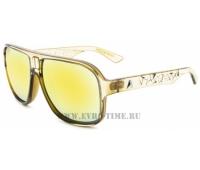 Зеркальные очки Absurda цвет золото