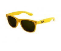 Солнечные очки wayfarer желтые