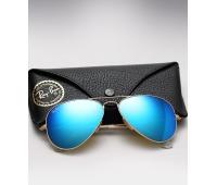 Солнечные очки Rаy Ban с синими линзами