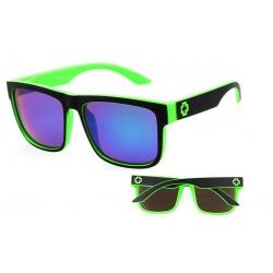 Солнцезащитные очки SPY + Discord black green