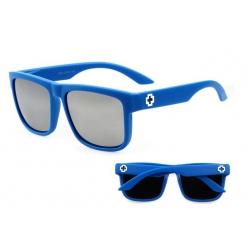 Солнцезащитные очки SPY+ Discord  blue silver