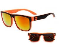 Солнцезащитные очки SPY + Discord black orange
