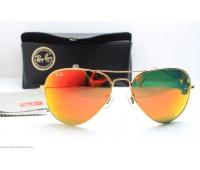 Солцзащитные  очки ray ban aviator  хамелион