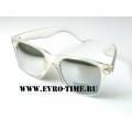 Солнцезащитные очки wayfer с бесцветной оправой